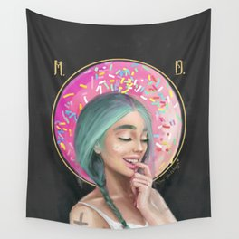 I DONUT care! Wall Tapestry