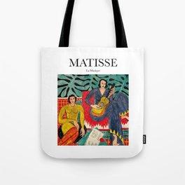 Matisse - La Musique Tote Bag