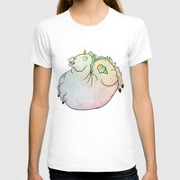 my mad fat diary T-shirts featuring Fat Unicorn by exeivier