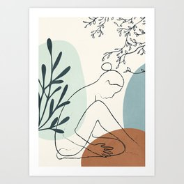 Breeze III Art Print