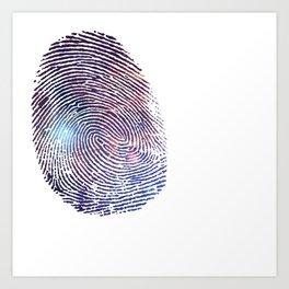 COSMIC TRACE Art Print
