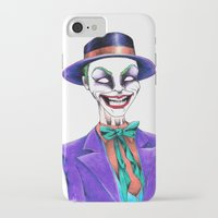 the joker iPhone & iPod Cases featuring JOKER by ReadThisVA