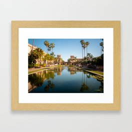 An Evening in Balboa Park Framed Art Print