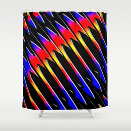 Abstrakt - Perfektion 50 Shower Curtain