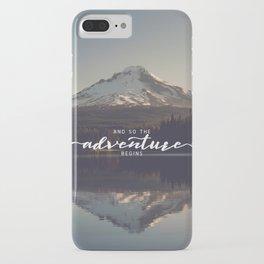 Trillium Adventure Begins - Nature Photography iPhone Case