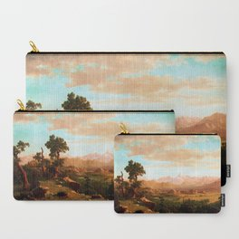 Albert Bierstadt Wind River Country Carry-All Pouch