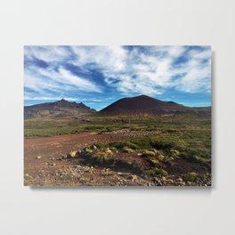 Driving on the Snæfellsnes Peninsula in Iceland (2) Metal Print