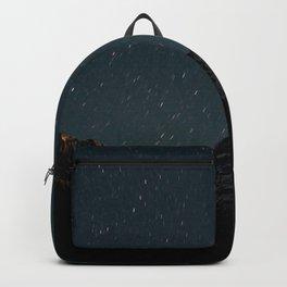 mountain starry sky night glitter uplands Backpack