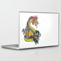 mexican Laptop & iPad Skins featuring Mexican Gods by Andrea ED