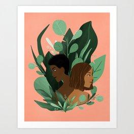 Growing Art Print