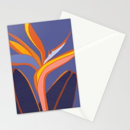 Bird Of Paradise Tropical Flower Stationery Cards