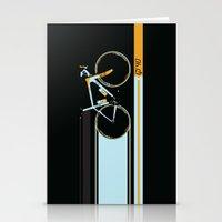 bike Stationery Cards featuring Bike by Wyatt Design