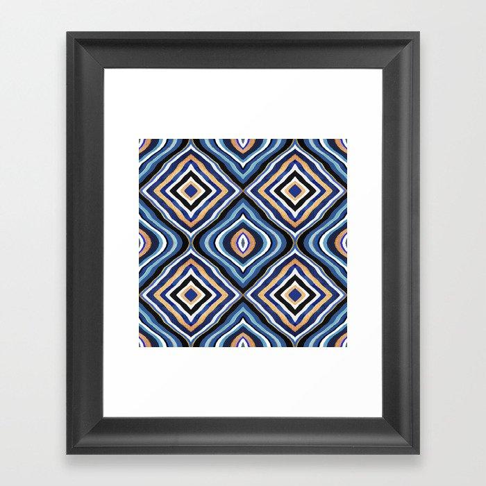 Blue Moroccan