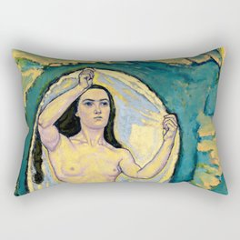 "Koloman (Kolo) Moser ""Venus in the Grotto"" Rectangular Pillow"