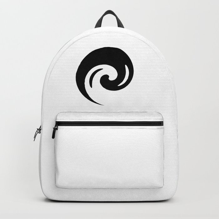 Yin Yang Exagerated Backpack