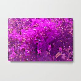 Nature is going abstract X Metal Print
