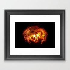 HellFire 002 Framed Art Print