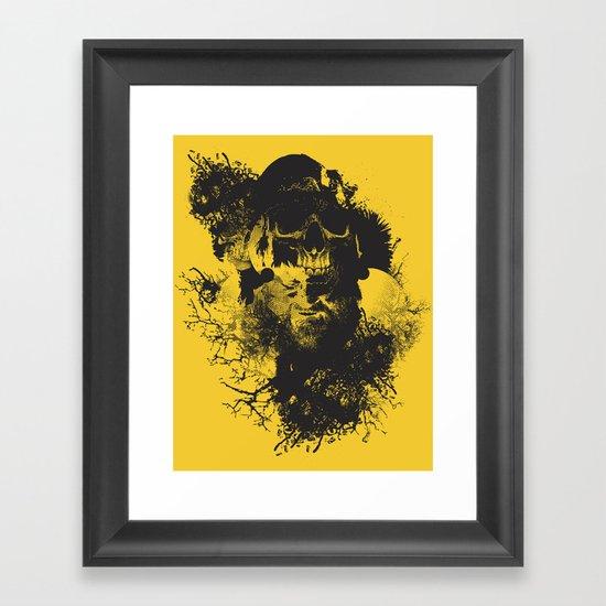 Abstract Thinking Framed Art Print