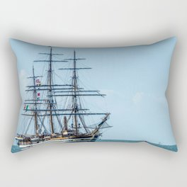 Amerigo Vespucci. Rectangular Pillow