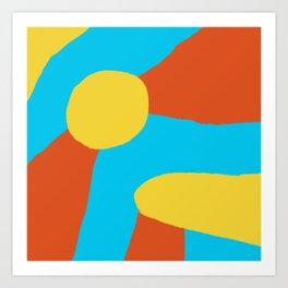 Sun-kissed Art Print