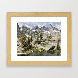 High Sierra Wonderland Framed Art Print