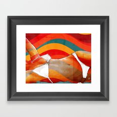 The Girl From Ipanema Framed Art Print
