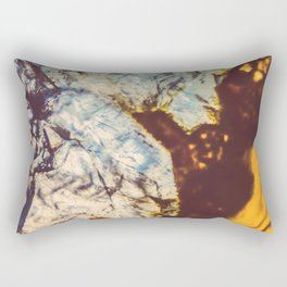 Agate, Earth frozen in time Rectangular Pillow