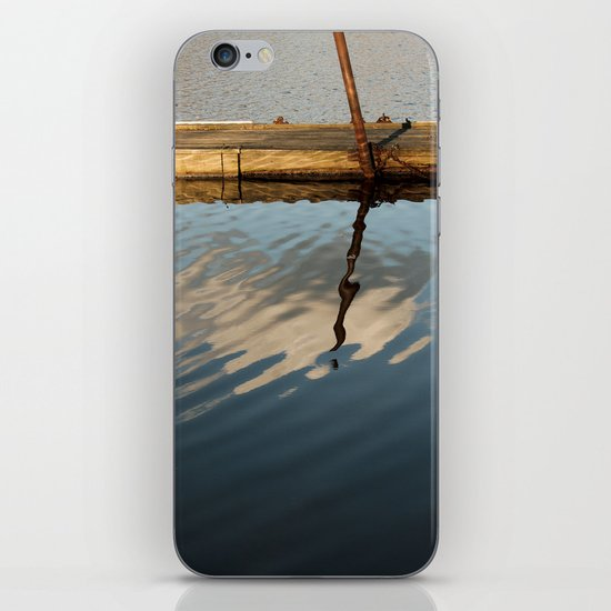 Two Waters and a Cloud iPhone & iPod Skin