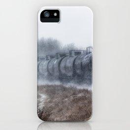 Winter Locomotion iPhone Case