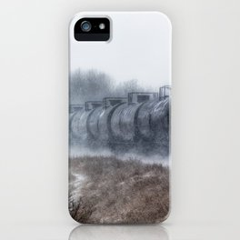 Winter Locomotion iPhone Case