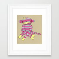 coco Framed Art Prints featuring Coco by Roisin