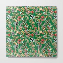 Sarong Kebaya Batik Green Metal Print