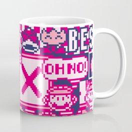Glitched Mario Coffee Mug