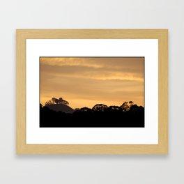 golden gate heights Framed Art Print