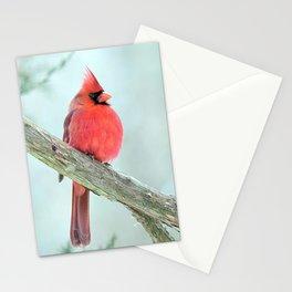 Elegant Cardinal Stationery Cards
