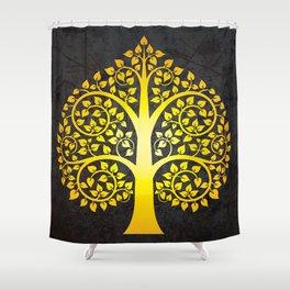 Bodhi Tree0103 Shower Curtain