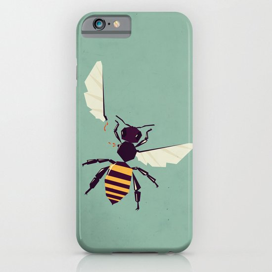 H is for honey bee  iPhone & iPod Case