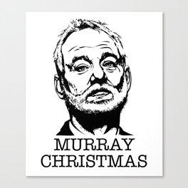 Murray Christmas Canvas Print