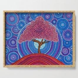 The Sakura Tree Serving Tray