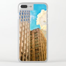 Up into the Sky Clear iPhone Case