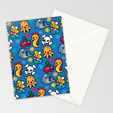 Sea pattern 01 Stationery Cards