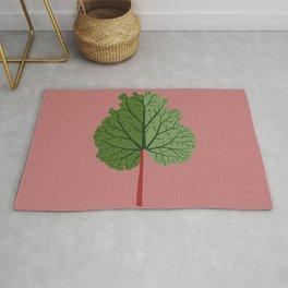 Rhubarb Rug