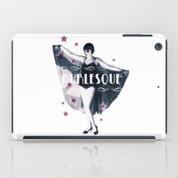 burlesque iPad Cases featuring BURLESQUE by TOO MANY GRAPHIX