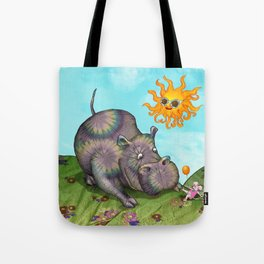 Hipo Hippie Tote Bag