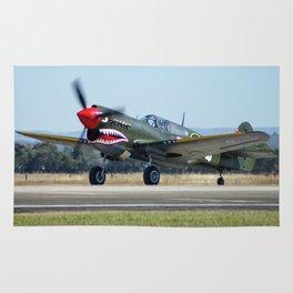 Avalon Airshow - VH-ZOC Curtiss P-40N Warhawk Rug