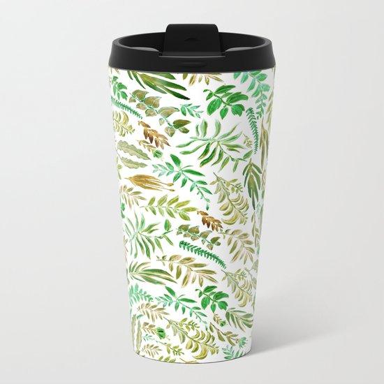 green wave of nature Metal Travel Mug