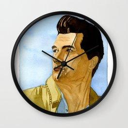 Rock Hudson Wall Clock