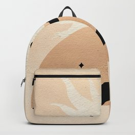 Abstract Woman Backpack