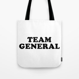 TEAM GENERAL Tote Bag