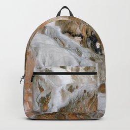 Travertine Mammoth Hot Springs Yellowstone Backpack